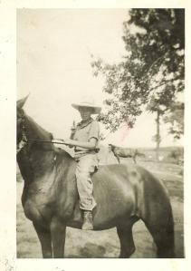 Bob and his horse
