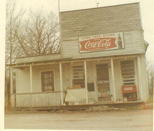 Lone Tree Store in 1967