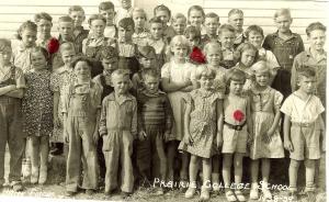 Prairie College School, Lone Tree, IN 1939